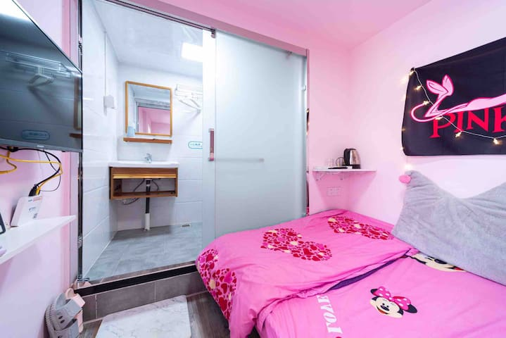 <初五民宿>厦门沙坡尾独栋公寓步行可达猫街双子塔直达中山路鼓浪屿