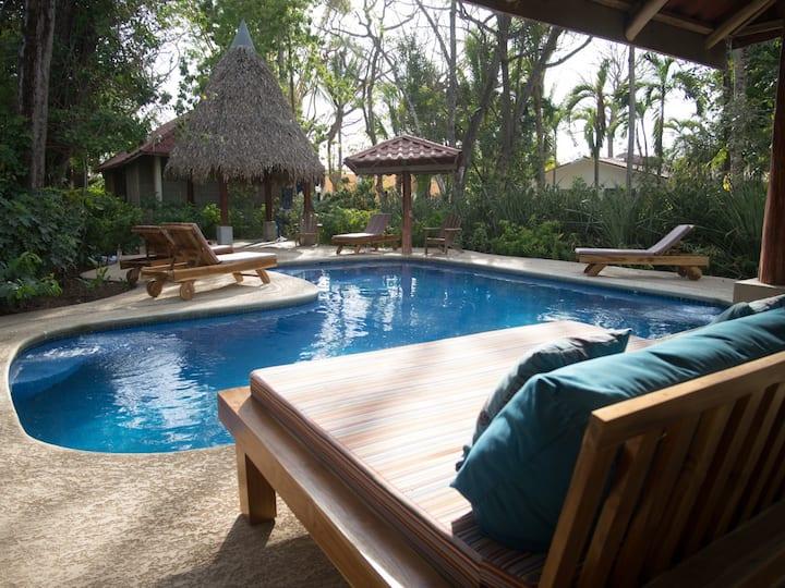 Jungle Beach House - Front Row Nosara - Sleeps 16