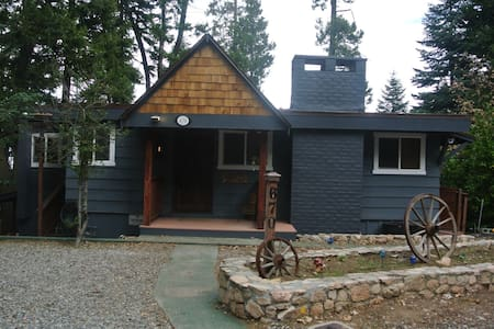 Lakeview Cabin Retreat - San Bernardino - Hus