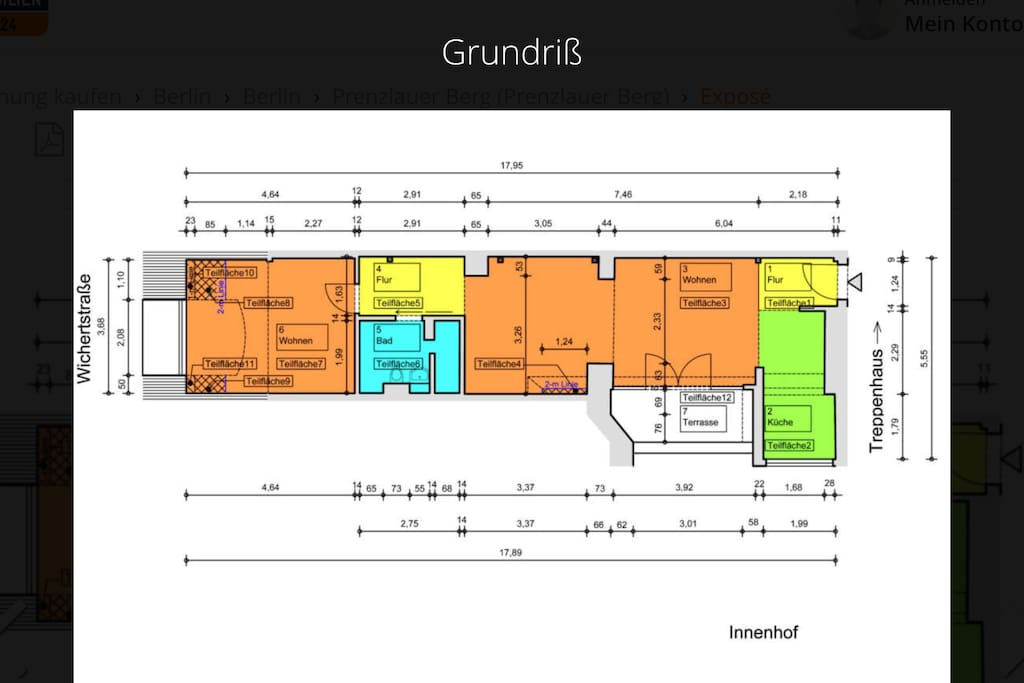 Grundriss - floor plan