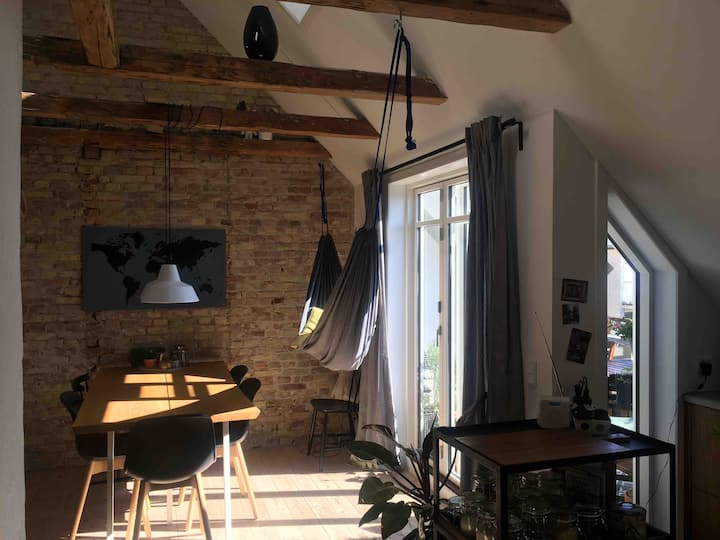 Penthouse Vesterbro - Modern and Relaxing