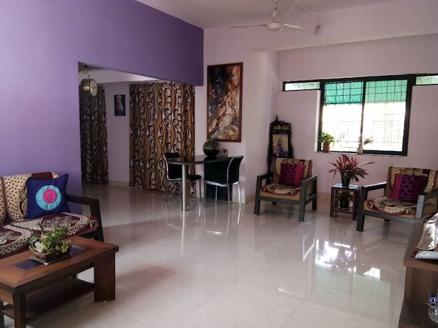 2bhk Apmt near Goa Airport