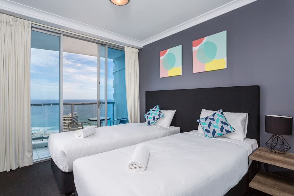 Second bedroom level 29 ocean view apartment