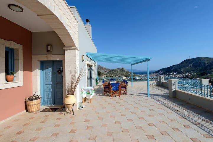 Plevri Luxury Villa - Kalimnos - Rumah