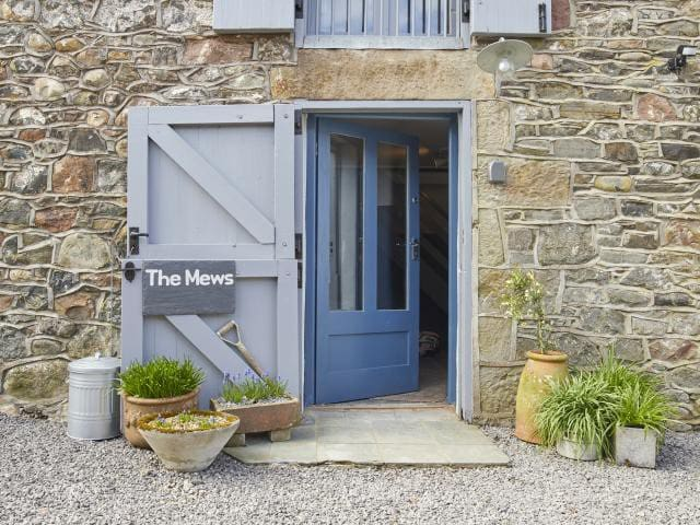 The Mews, cosy barn for 2-4 people.