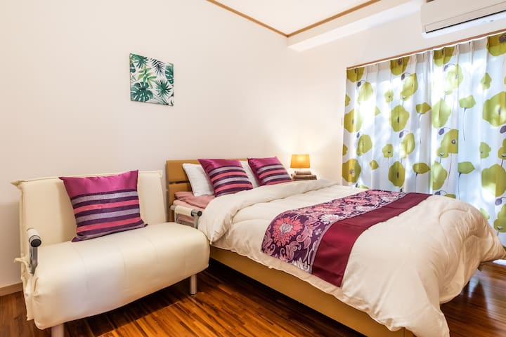 2nd bed room (one double bed and one sofa bed)