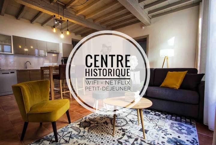 En toute intimité dans le centre historique