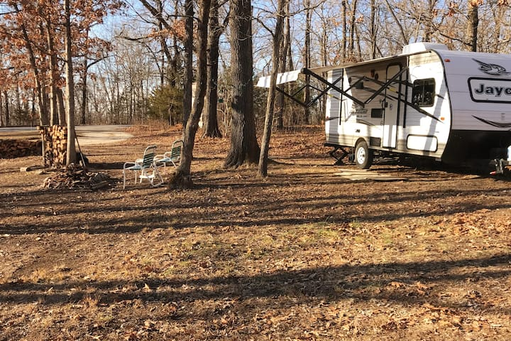 Glamping at Lake of the Ozarks