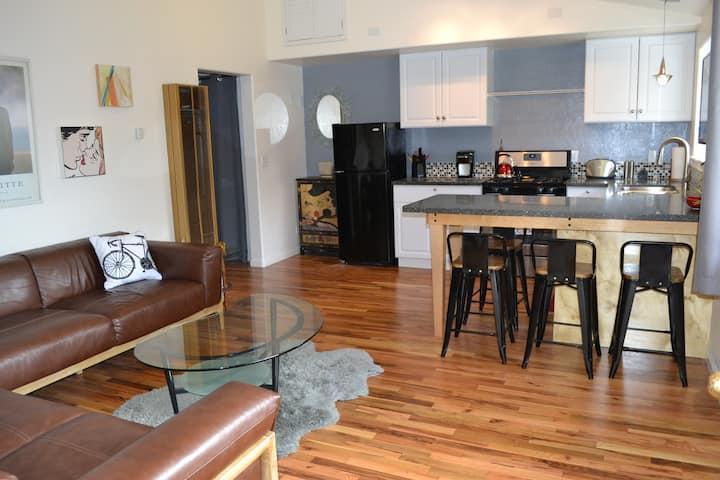 Arcata treetop apartment