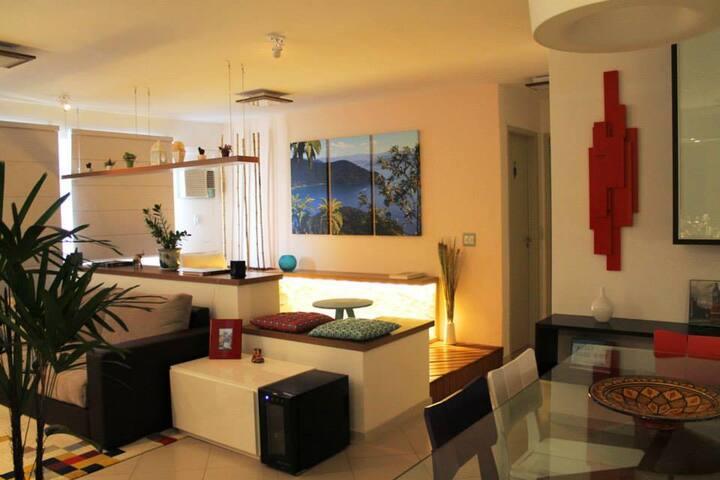 Amazing apartment near Downtown & Maracanã! - Rio de Janeiro - Leilighet
