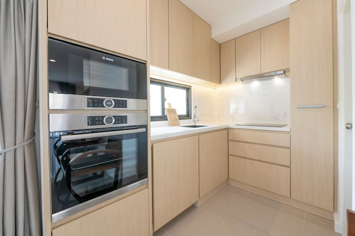 Ground Fl. - Fully Equipped Kitchen
