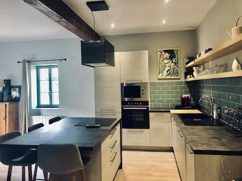 Superbe appartement cosy au coeur du beaujolais