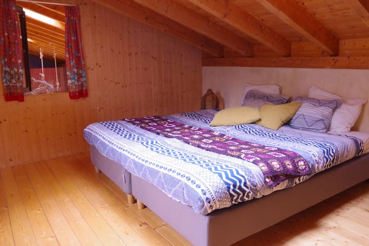 Bedroom 1 with double bed option
