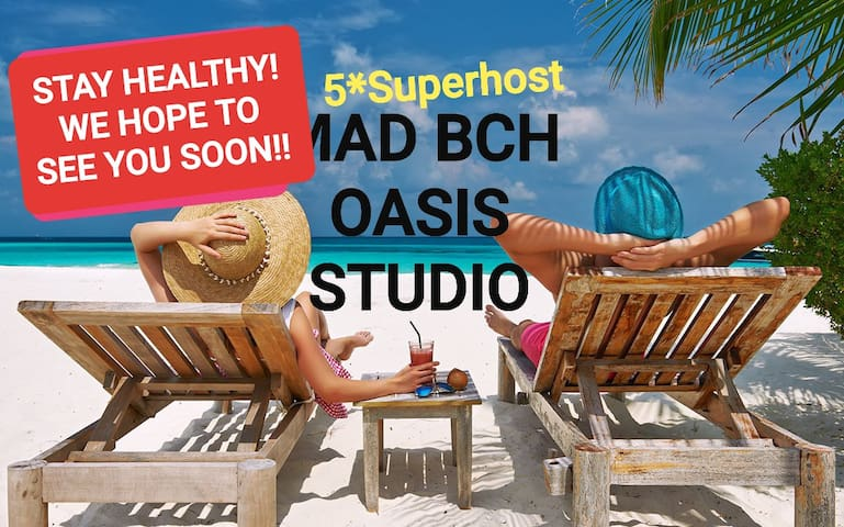 Mad Bch Oasis Studio**MAY NOW $59 PN**