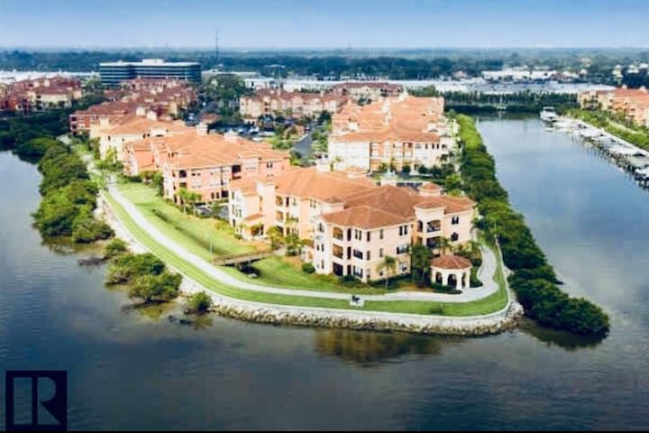 Exceptional Waterfront Condo || Central Tampa Bay