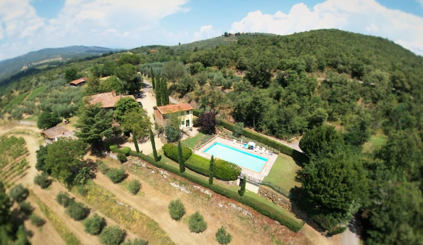 Tuscan Farmhouse - Bucine/Arezzo - Bucine - Appartement