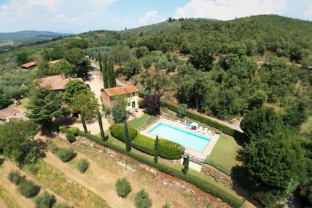 Tuscan Farmhouse - Bucine/Arezzo - Bucine - Wohnung