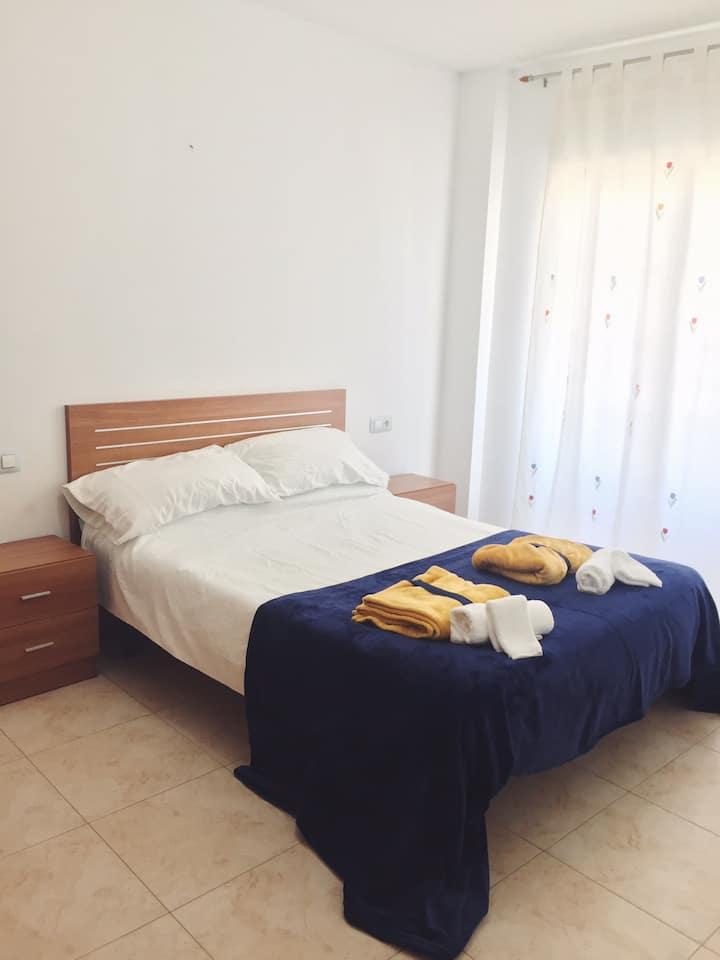 Alojamiento en Benicarló con piscina y parking