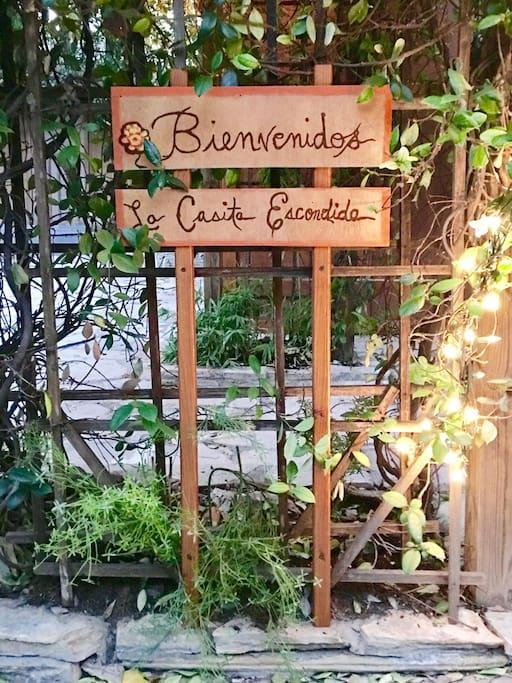 Welcome to La Casita Escondida