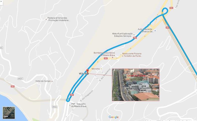 ACCESS MAP TO FLOR GIESTA