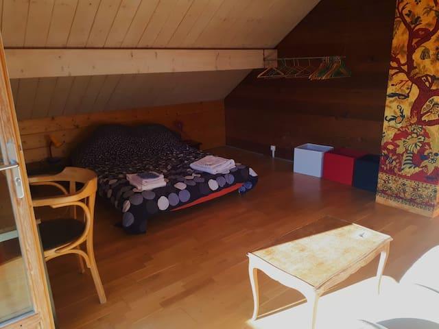 Grande chambre au coeur de la Vallée du Champsaur