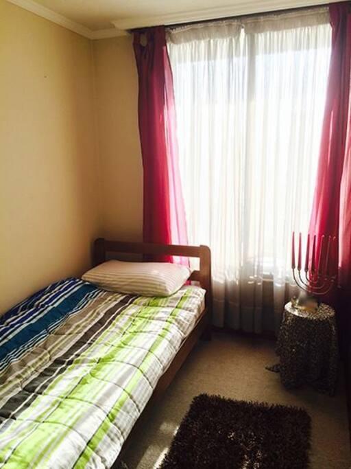 la habitación para arrendar