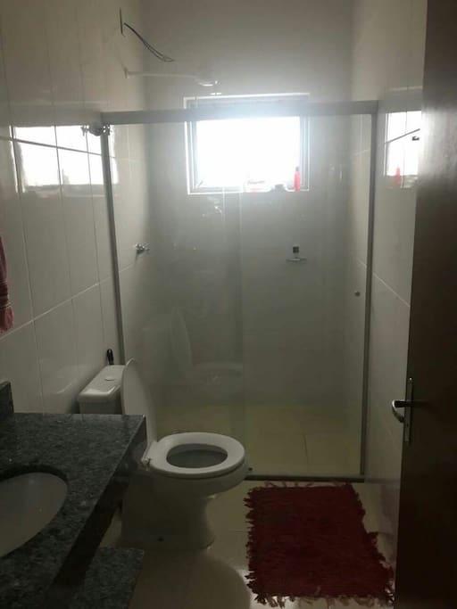Um dos banheiros