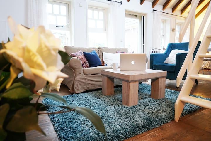 Knusse, warme 2-persoons studio met eigen tuintje - Twisk - House