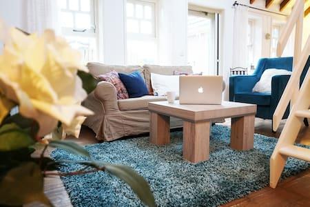 Knusse, warme 2-persoons studio met eigen tuintje - Twisk - Hus
