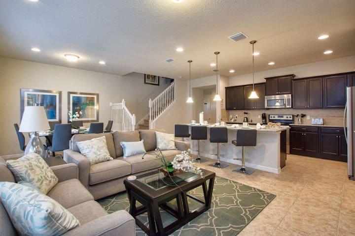 "Townhome 5 BR NEW ""Windsor at Westside Resort"" - Kissimmee - Dom"
