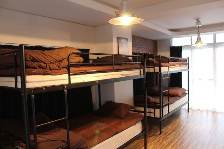 mixed dorm 405-4 bottom NO cleanig fee! - fukuoka-shi
