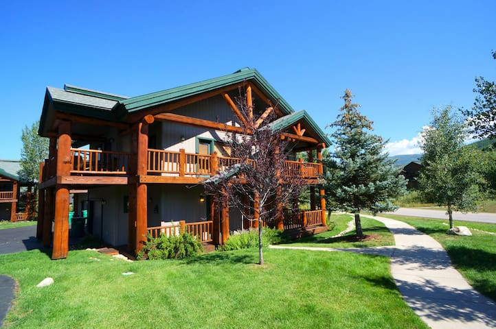 Saddle Creek Town Homes #1780 - Steamboat Springs - Haus
