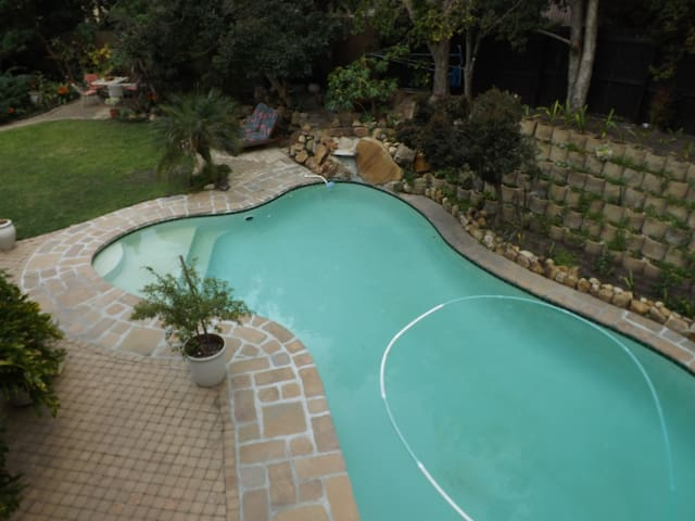 Shared outdoor pool