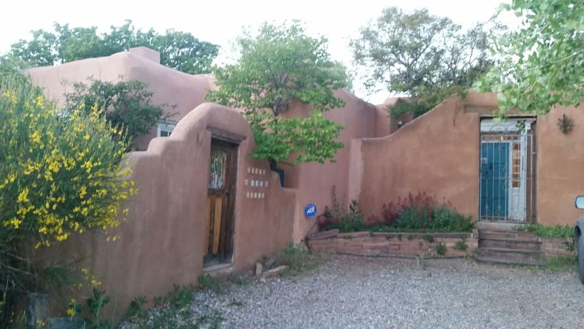 Historic Adobe Studio off Canyon Rd