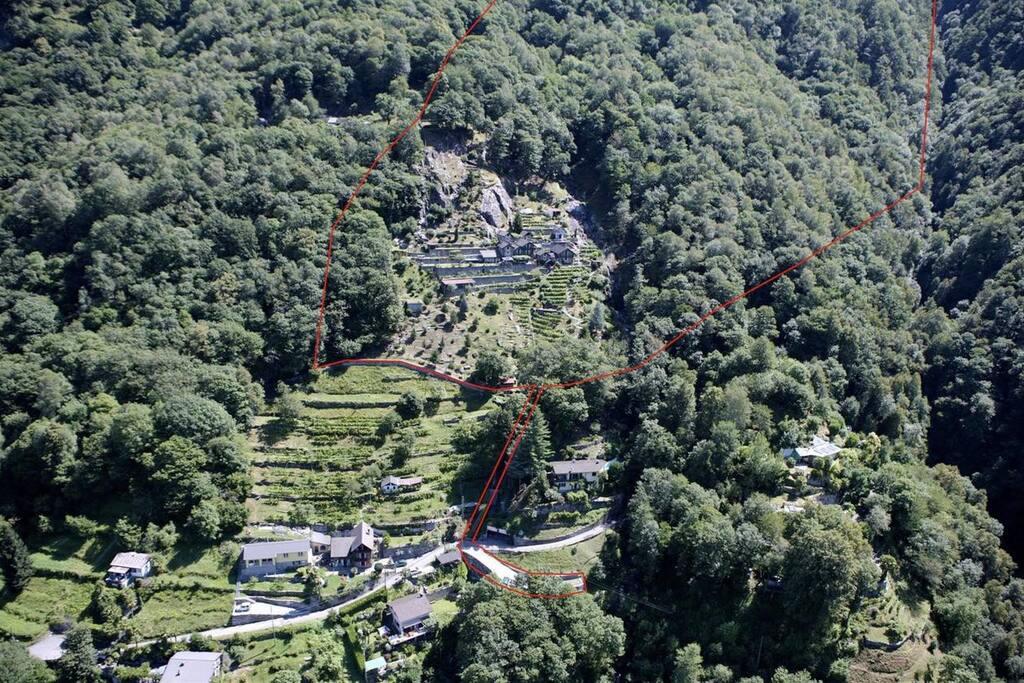 Rodign-Privates Dorf