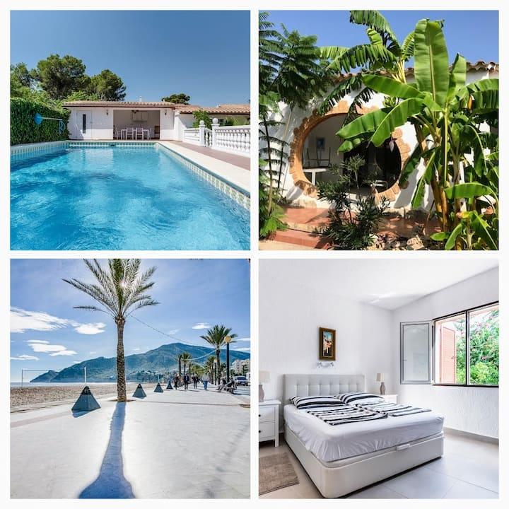 Villa 2 in Albir mit privatem Pool