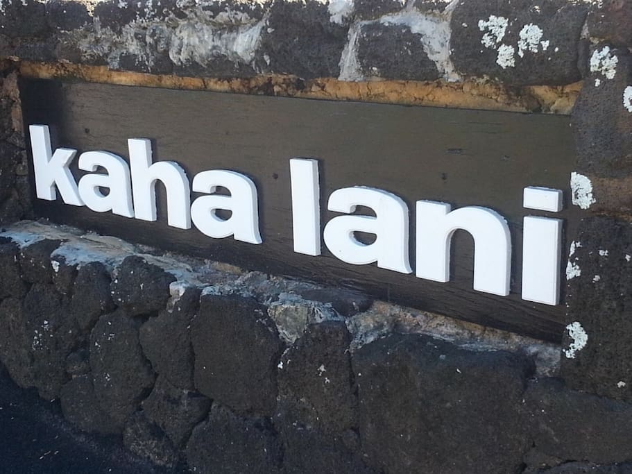 "Kaha Lani mean ""Heavenly Place."" How true!"