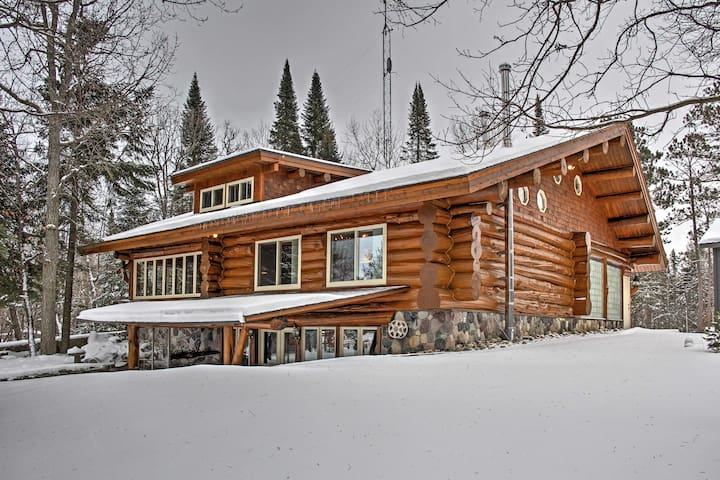 4BR Deer River Cabin w/ Lake and Forest Views!