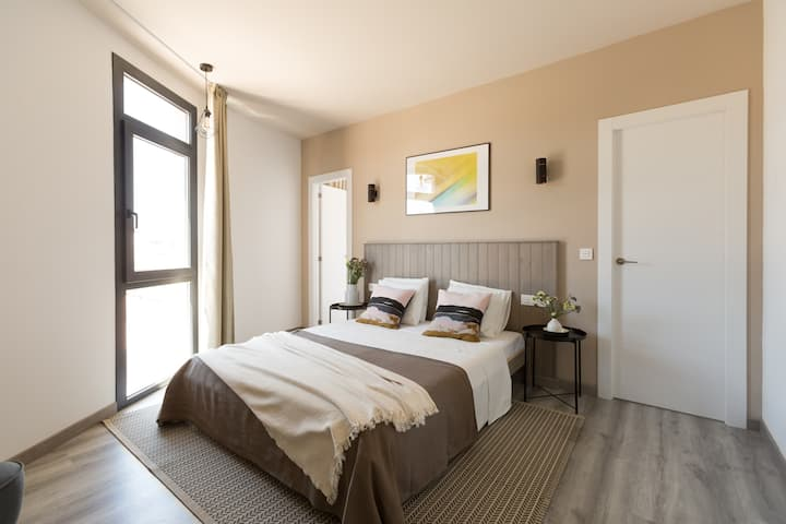 Room for 3 persons, 7 min from the beach