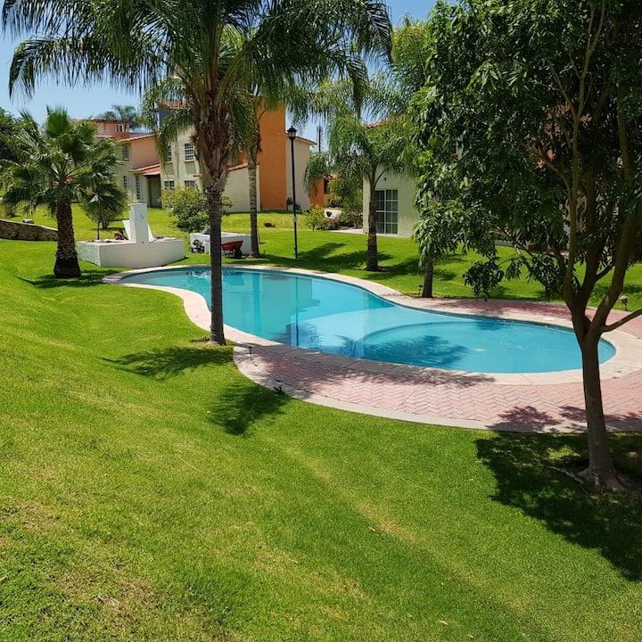 Hermosa casa con vista al lago de Chapala Jalisco