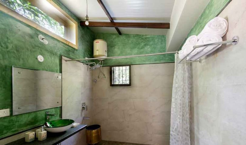 Navvya's Resort Luxury Cottage with Balcony Hampi