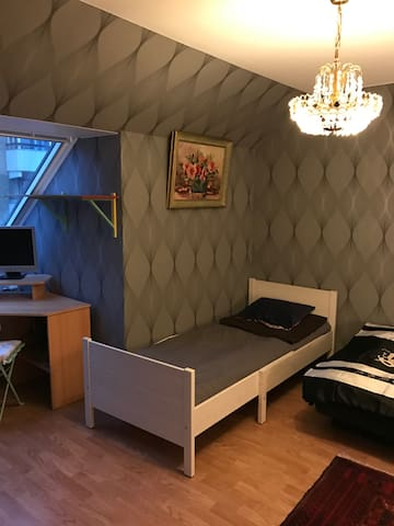 Cozy room in a quiet neighborhood - Helsingborg - Dom