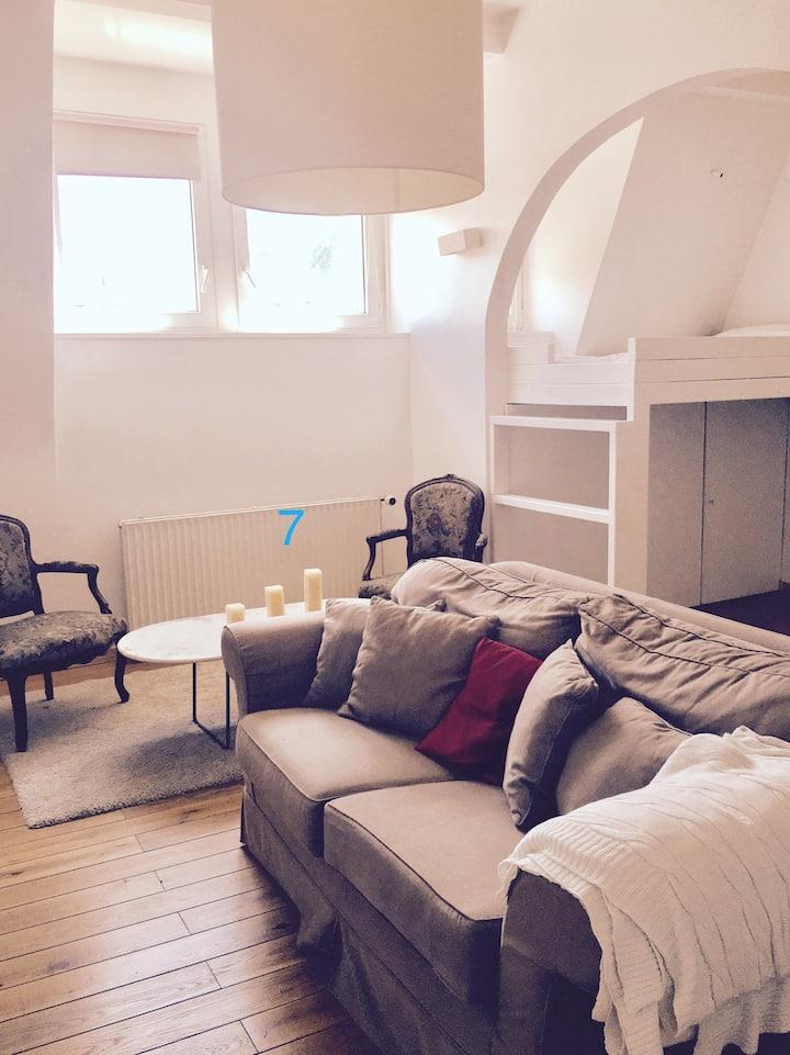 Chambre privée dans magnifique maison à Uccle