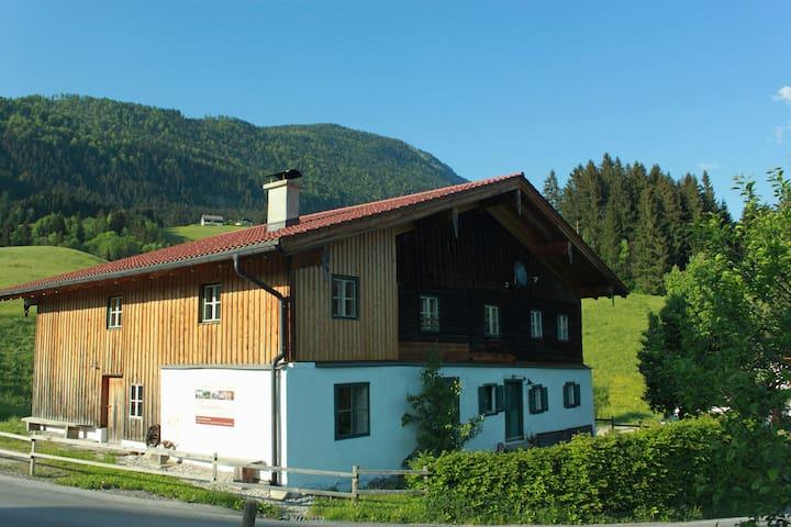 Ferienhaus Wiesbachgut, nahe der Stadt Salzburg - Abtenau - House
