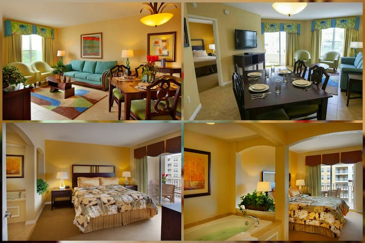 Roomy King Bedroom Suite With 7 Pools!