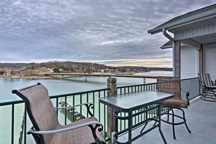 NEW! 4BR Camdenton Condo on Lake of the Ozarks!