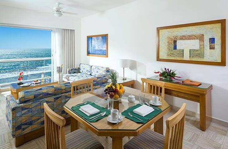 Departamento en el Hotel Sea Garden Nuevo Vallarta