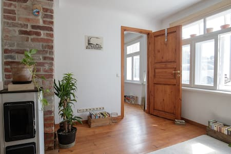 Real and cozy home with two cats