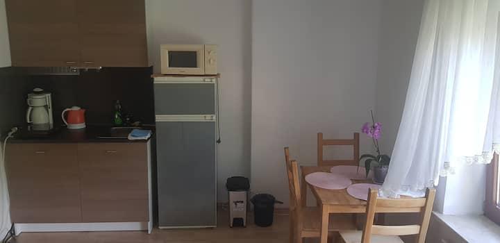 Zimmer mit Küchenzeile, Bad und nähe zum Strand