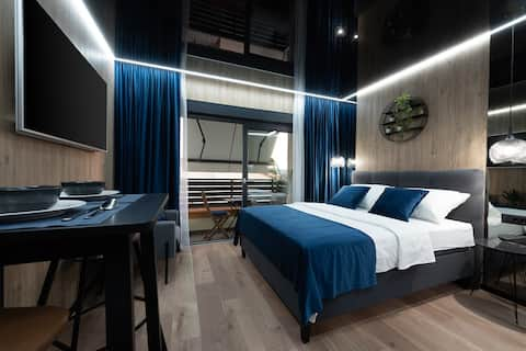 Studio LUX 365**** NEW premium studio by the sea